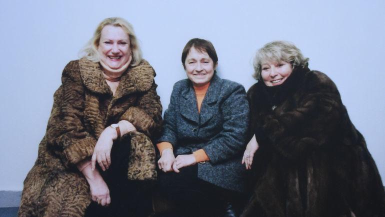 Елена Чайковская, Тамара Москвина и Татьяна Тарасова. Фото из архива семьи Чайковских