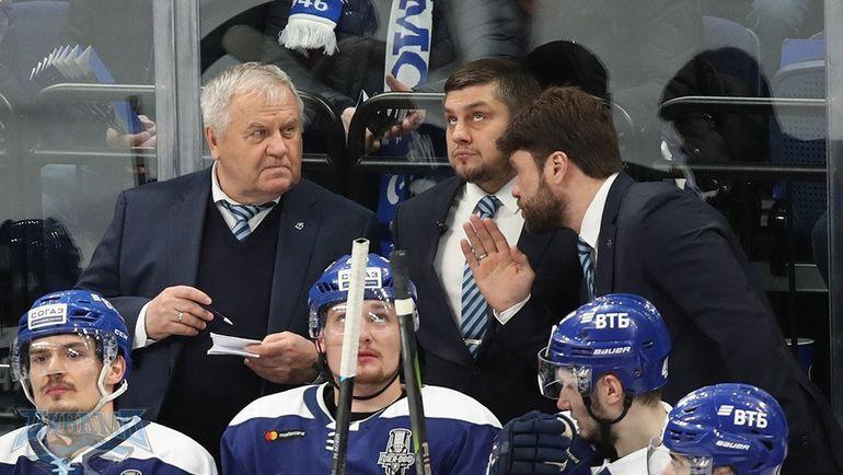 "Владимир Крикунов (слева). Фото ХК ""Динамо"""