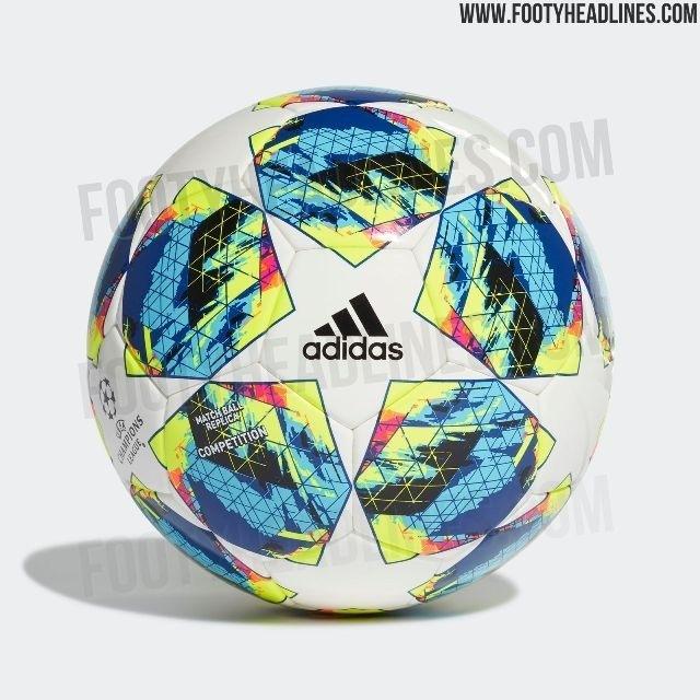 Новый мяч Лиги чемпионов 2019/2020.