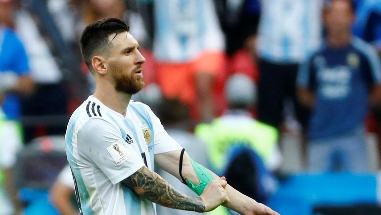 Чемпионат мира-2018 стал разочарованием для Лионеля Месси и всей сборной Аргентины. Фото Reuters