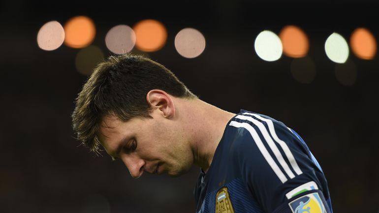 В финале ЧМ-2014 Аргентина проиграла Германии. Фото AFP