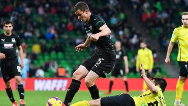 Краснодар – Анжи – 5:0, 31 марта 2019, как сыграл Иван Игнатьев