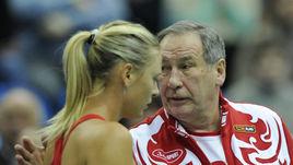 Шамиль Тарпищев и Мария Шарапова.