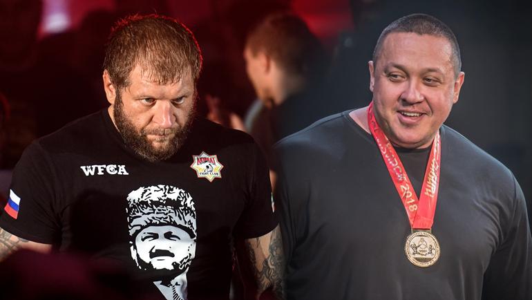 Александр Емельяненко и Михаил Кокляев.