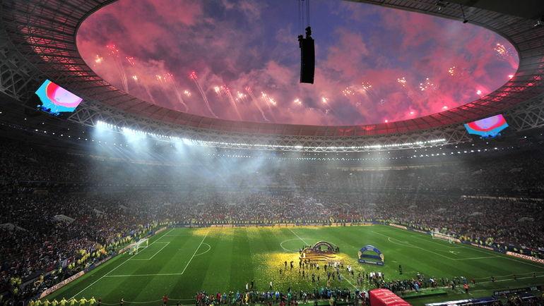 38427b43 Где пройдет финал Кубка? 15 июля 2018 года. Москва. Франция - Хорватия -  4:2. Стадион