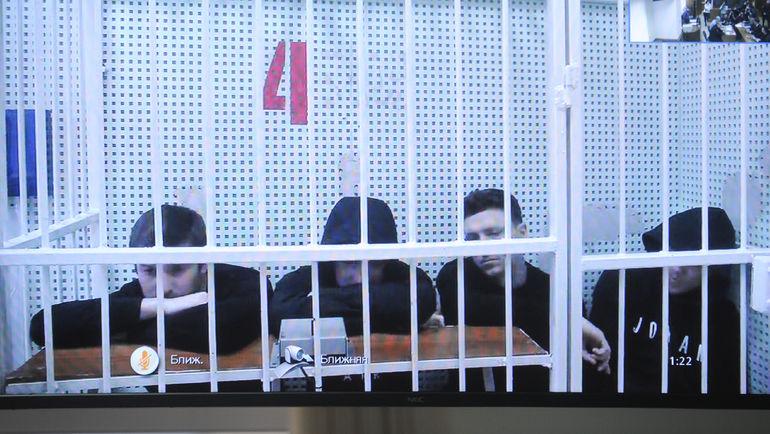 "Александр Протасовицкий, Павел Мамаев, Кирилл Кокорин и Александр Кокорин (слева направо). Фото Дарья Исаева, ""СЭ"""