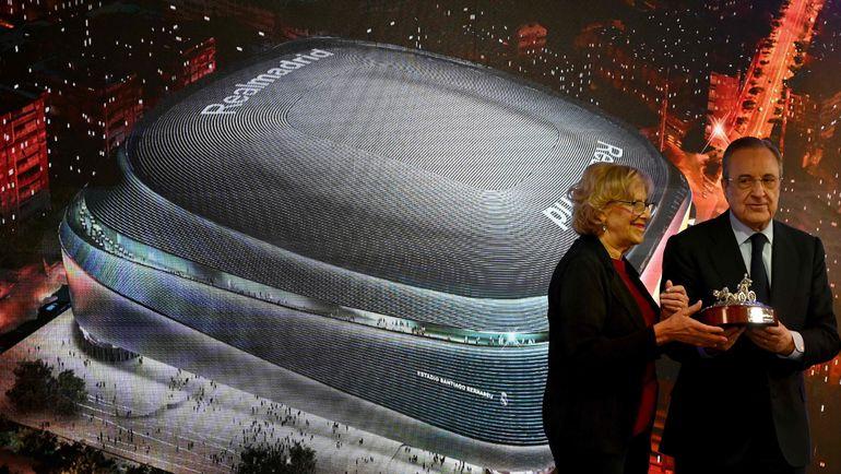 Реконструкция стадиона реал мадрида