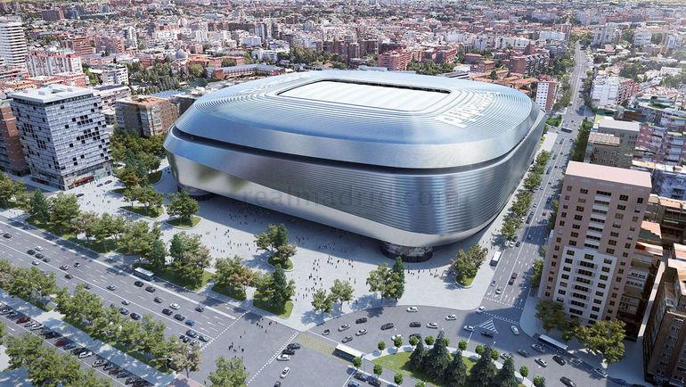 Вместимость стадиона реал мадрид