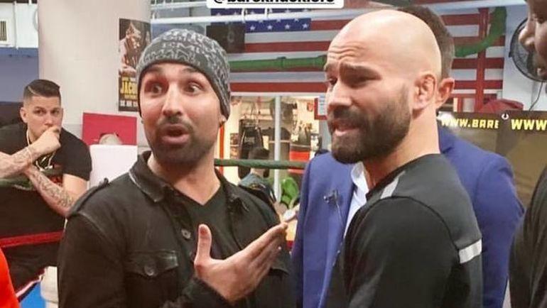 Поли Малиньяджи (слева) и Артем Лобов. Фото instagram.com
