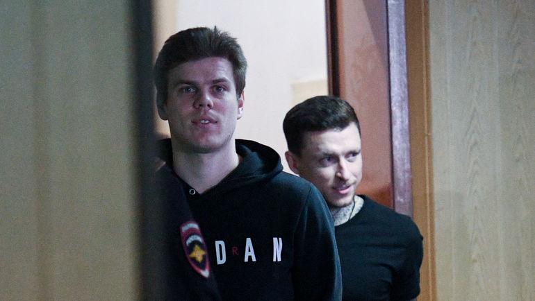 """Александр Кокорин и Павел Мамаев. Фото Дарья Исаева, """"СЭ"""""""