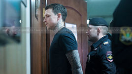 3 апреля. Москва. Павел Мамаев в здании суда.