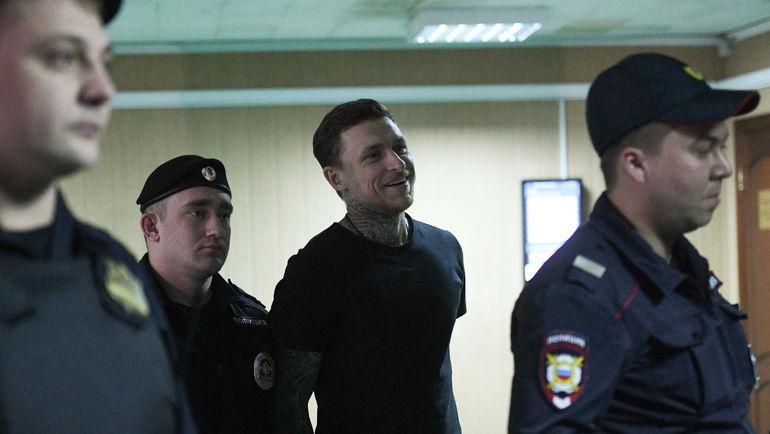 3 апреля. Москва. Павел Мамаев в здании суда. Фото Дарья Исаева, «СЭ»