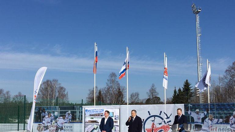 """Презентация проекта нового ледового стадиона в Рощино. Фото Егор Быков, """"СЭ"""""""