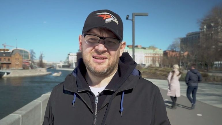"""Включение с бывшим президентом """"Локомотива"""" Ильей Геркусом."""