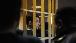 3 апреля. Москва. Пресненский районный суд. Павел Мамаев на предварительном слушании по делу.