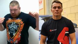 Вячеслав Дацик (слева) и Артем Тарасов дали пресс-конференцию.