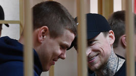 9 апреля. Москва. Александр Кокорин и Павел Мамаев.