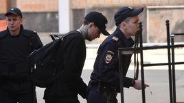 11 апреля. Москва. Павел Мамаев перед заседанием суда.