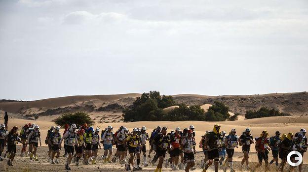 9 апреля. Ежегодно в марафоне принимают участие около тысячи спортсменов. Фото AFP