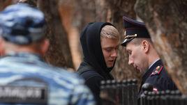 10 апреля. Москва. Кирилл Кокорин перед заседанием в Пресненском суде.