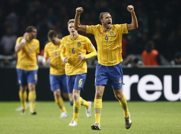 Германия - Швеция — 4:4 (3:0).