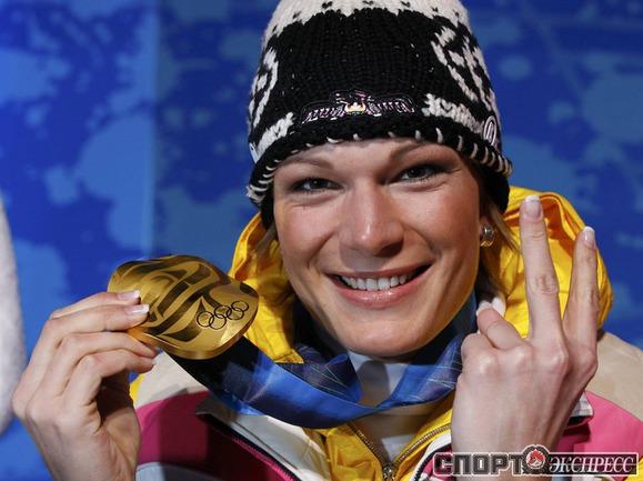 Мария РИШ (Германия). Горные лыжи. Слалом. Фото Reuters