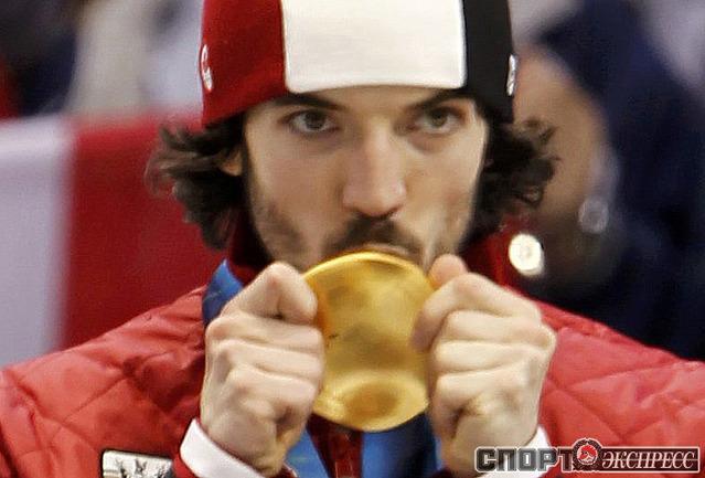 Чарльз ХЭМЛИН (Канада). Шорт-трек. 500 м. Фото Reuters