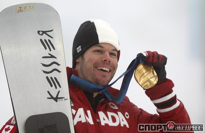 Джейси Джей АНДЕРСОН (Канада). Сноуборд. Параллельный слалом. Фото Reuters
