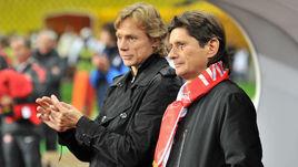 Валерий Карпин и Леонид Федун.