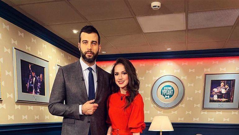 Алина Загитова и Иван Ургант. Фото Инстаграм