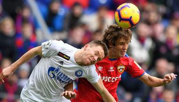 ЦСКА забил с центра поля, отыгрался после удаления Мариу Фернандеса, но уступил