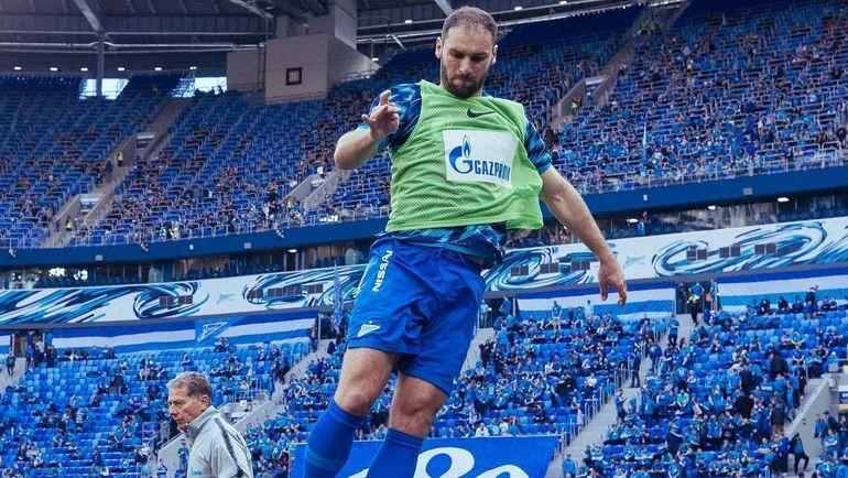 Бранислав Иванович. Фото instagram.com/zenit_spb/