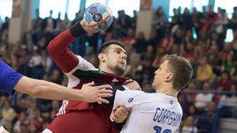 14 апреля. Эрд. Венгрия - Россия - 23:23. Российские гандболисты играли не хуже десятой команды мира.