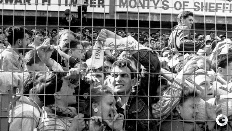 "15 апреля 1989 года. Шеффилд. Давка на стадионе ""Хиллсборо""."