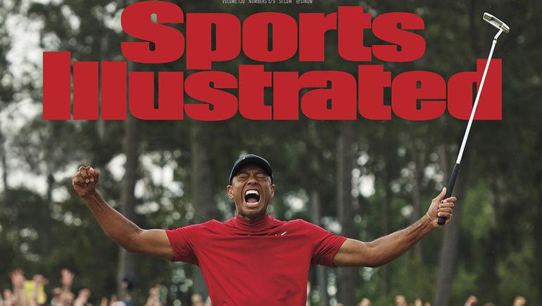 Обложка Sports Illustrated.