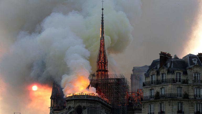 Собор Парижской Богоматери. Фото AFP