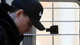 16 апреля. Москва. Павел Мамаев доставлен на заседание Пресненского суда.