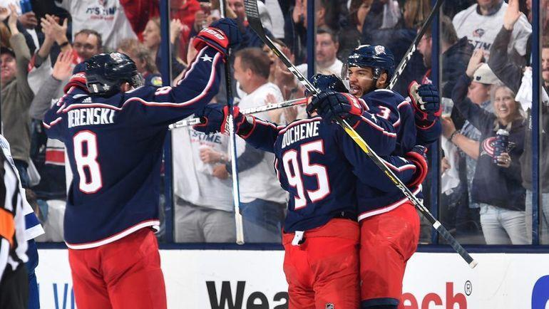 """""""Коламбус"""" победил """"Тампу"""" в четырех матчах. Лучшая команда регулярки уже в отпуске. Фото НХЛ"""