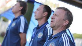 Станислав Коротаев (справа) - старший тренер юношеской сборной России.