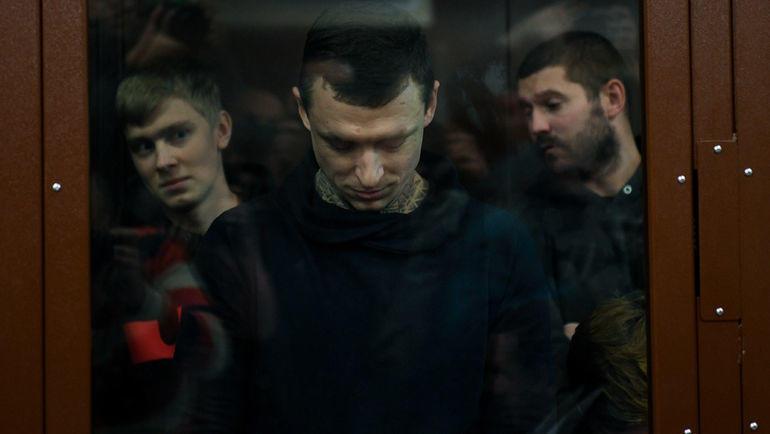"Кирилл Кокорин, Павел Мамаев и Александр Протасовицкий. Фото Дарья Исаева, ""СЭ"""
