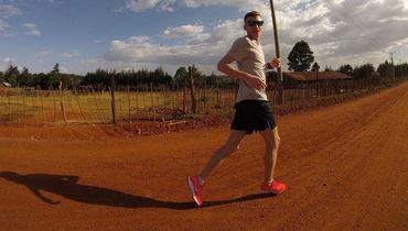 Чемпион России по марафону Степан Киселев в Кении.