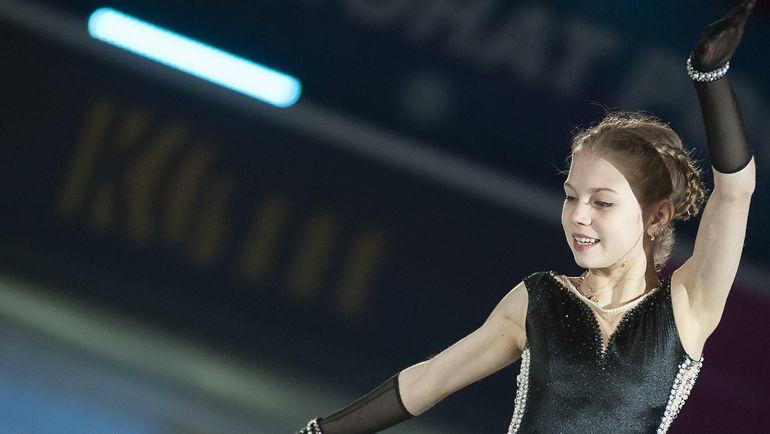 """Александра Трусова пока имеет одну путевку на этапы """"Гран-при"""". Фото Ксения Нуртдинова"""