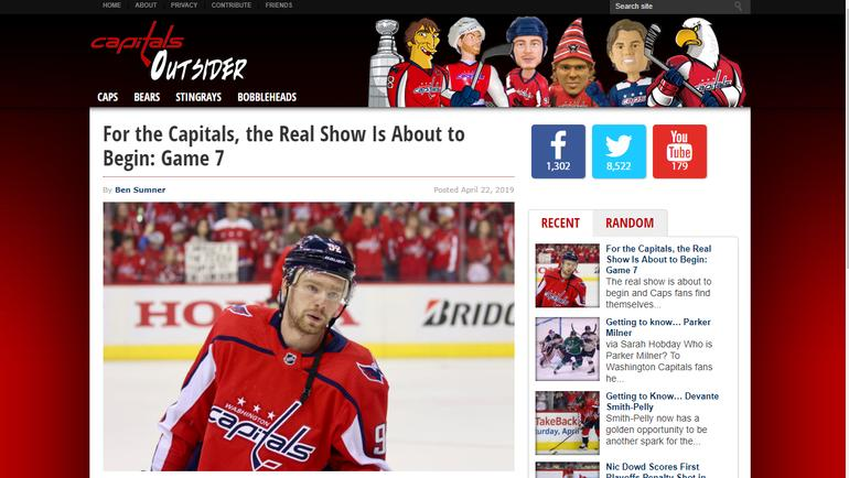 Capitals Outsider.