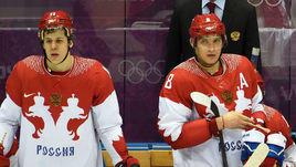 Евгений Малкин (слева) и Александр Овечкин.