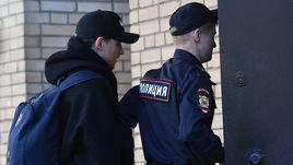 16 апреля. Москва. Павел Мамаев перед очередным заседанием суда.