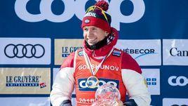 Александр Большунов.