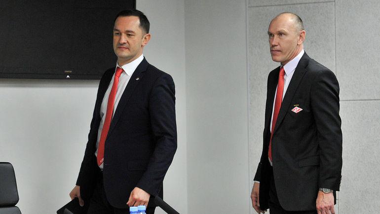 Наиль Измайлов и Сергей Родионов. Фото Алексей Иванов