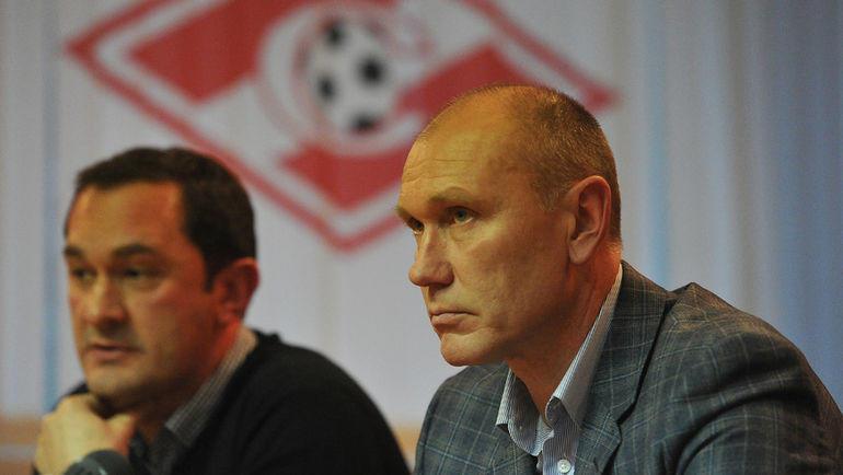 Наиль Измайлов (слева) и Сергей Родионов. Фото Алексей Иванов