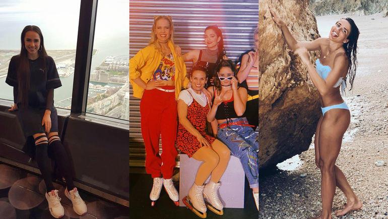 Алина Загитова, Евгения Медведева и модели, Юлия Канакина. Фото instagram.com