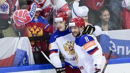 Евгений Малкин (№11) и Александр Овечкин вместе на льду - не только на Олимпиаде-2014, но и на ЧМ-2015.